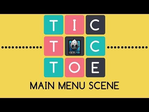 Tic-Tac-Toe Cocos2d-x C++ - Tutorial 4 (Main Menu Scene)