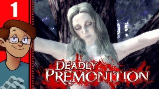 Let's Play Deadly Premonition Part 1 - The Cursed Game Returns!