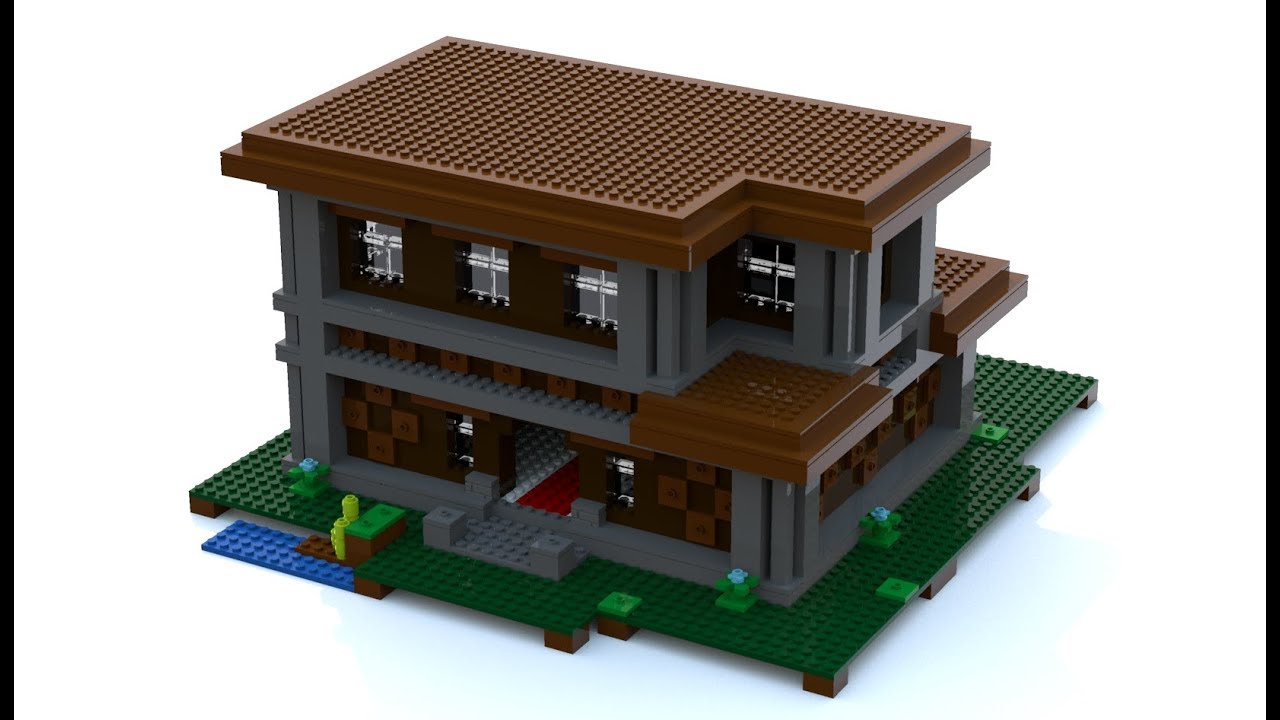 Lego Minecraft Woodland Mansion Moc