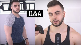Weak Muscles, Deadlifts, Novice Neck (Q&A)