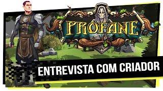 MMO Brasileiro Profane - Entrevista com criador