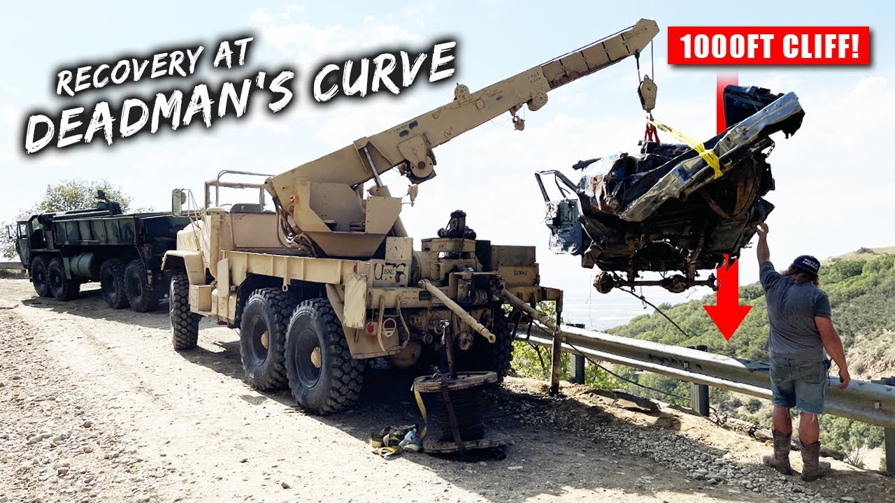 Recovering Vehicles From A Cliff That Nobody Else Will Touch (Dead Man's Curve!)