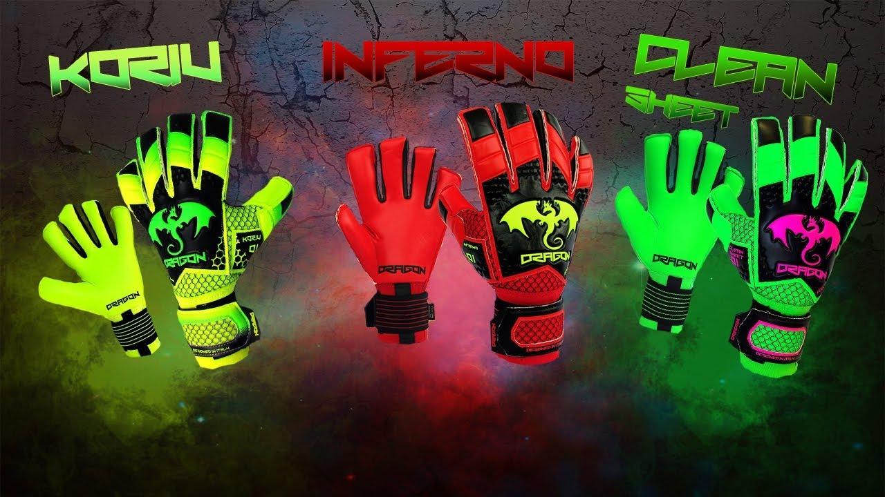 in magazzino abbigliamento sportivo ad alte prestazioni primo sguardo Dragon Koriu Inferno Clean Sheet - Dragon Sport guanti da portiere ...