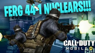 AK-47 Nuclear 44-1 Gameplay! 180 Kills in 1 game World Record Team Kills ( Call Of Duty: Mobile )