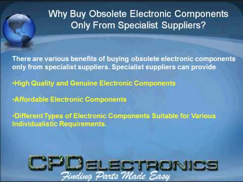 Buy Obsolete Electronic Components from Electronics Supplier in USA