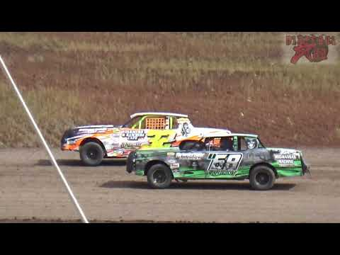 Salina Speedway - 9-30-18 - Mid America Clash 6 - Hobbystock Heat Races
