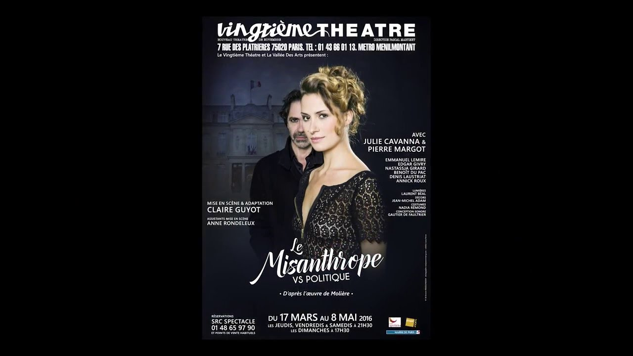 Le Misanthrope Vs Politique - Vingtieme Theatre