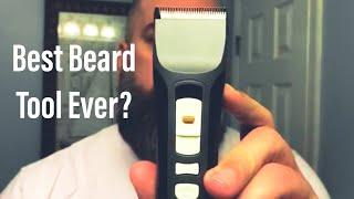 Best Beard Tool Ever? A Review and Beard Trim Using Brio Beardscape and Axis Trimmer