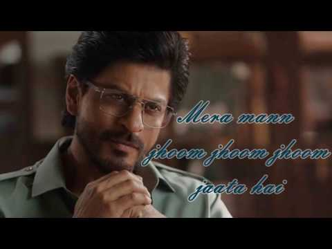 Halka Halka - Raees | FULL SONG | VIDEO LYRICS | Shah Rukh Khan & Mahira Khan