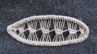 Румынское кружево Листик. Romanian lace. Do it yourself