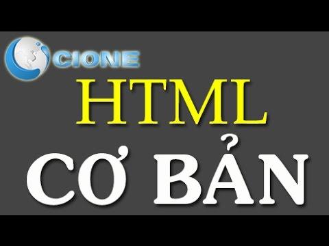 Học HTML cơ bản bài 1: HTML là gì?