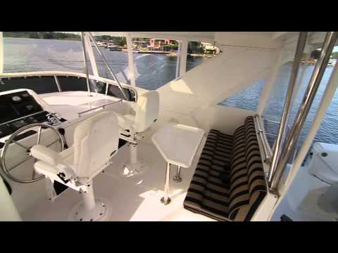 """58' Ocean Alexander 2008 """"Liberty"""" Offered For Sale In Seattle"""