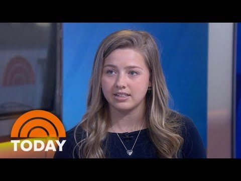 """""""Survivor Of Sexual Assault At Age 15, Chessy Prout, Talks About Her Book And Activism"""" (via Today )"""