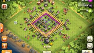 Clash Of Clans Level 9 Town Hall Farming Base