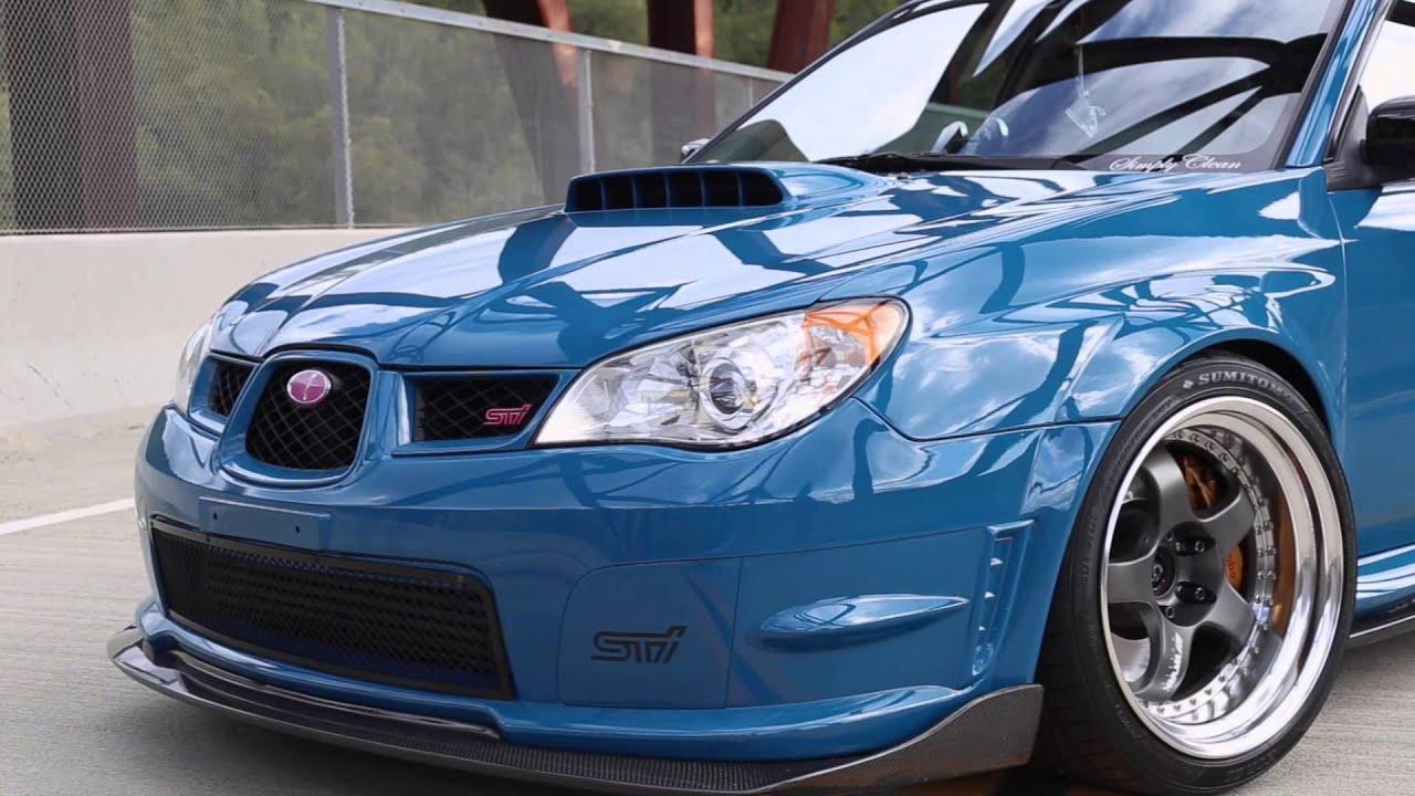 Laguna Seca Blue Subaru Sti Third World Society Youtube