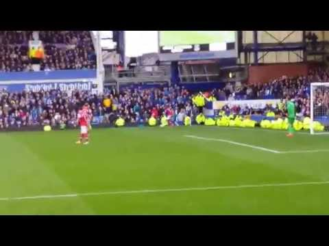 Everton vs Arsenal 6/4/2014