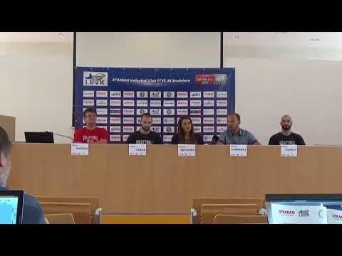 1.BVK /STRABAG VOLLEYBALL CLUB FTVS UK BRATISLAVA - TK 11.9.2017