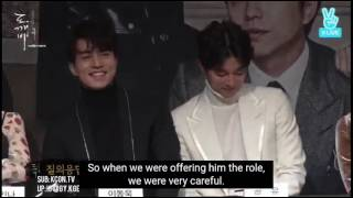 "[ENG SUB] Gong Yoo Reveals Why He Accepted ""Goblin"""