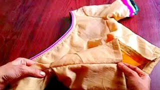 HOW TO ATTACH INVISIBLE ZIP IN BLOUSE