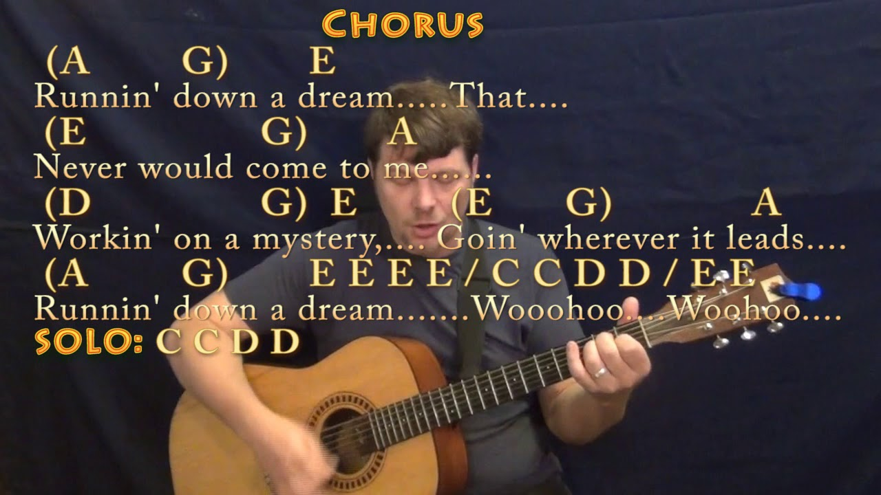 Running down a dream tom petty guitar cover lesson with chords running down a dream tom petty guitar cover lesson with chordslyrics munson hexwebz Image collections