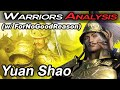 Yuan Shao (w/ ForNoGoodReason) - Warriors Analysis
