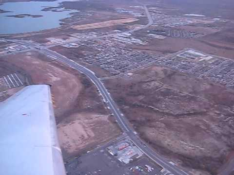 Takeoff from Laredo (LRD) 12/30/2008