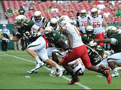 Auggie Sanchez Scoop and Score vs Maryland