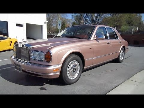1999 rolls royce silver seraph start up engine and in depth tour youtube. Black Bedroom Furniture Sets. Home Design Ideas