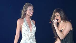 Taylor Swift feat Idina Menzel - Let it Go (live Halloween 2015)