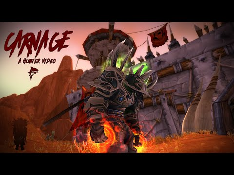Classic-Carnage-Cwow Orc Hunter PVP  Video