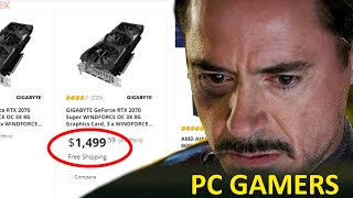 PC Gamers Reaction to GPU Prices Skyrocketing!