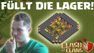 [facecam] FÜLLT DIE LAGER! || CLASH OF CLANS || Let's Play CoC [Deutsch/German HD]