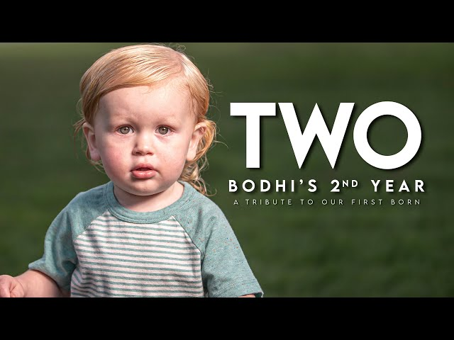 TWO / Bodhi's 2nd Year / A Tribute to Our 1st Born