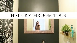 SMALL BATHROOM TOUR 2017 | Before and After | Simple Decorating Ideas