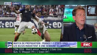 After Foot du samedi 09/06 – Partie 1/3 - Debrief de France/États-Unis (1-1)