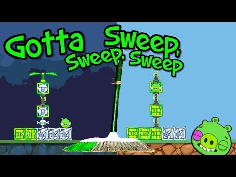 GOTTA SWEEP, SWEEP, SWEEP! - Bad Piggies Inventions