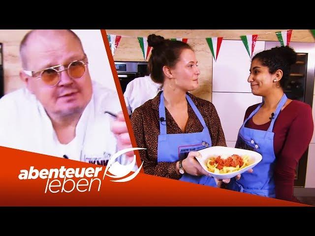 Spagetti Bolognese von Jugend gekocht: Wer gewinnt das Battle? | Abenteuer Leben | kabel eins