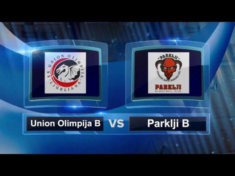 U15 košarka 2015/16, 2. SKL, 3.kolo, Union Olimpija B 65:47 Parklji B, 13.03.2016