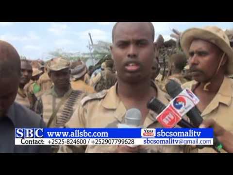 CIIDAMADA DOWLADA SOMALIA IYO KUWA JABUUTI OO AL SHABAB KULA  DAGAALAMAY DEEGAANKA LUUQ JEELOW OO DI