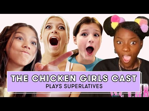 Hayley LeBlanc, Txunamy Ortiz, and the Cast of Chicken Girls Play Superlatives | Superlatives