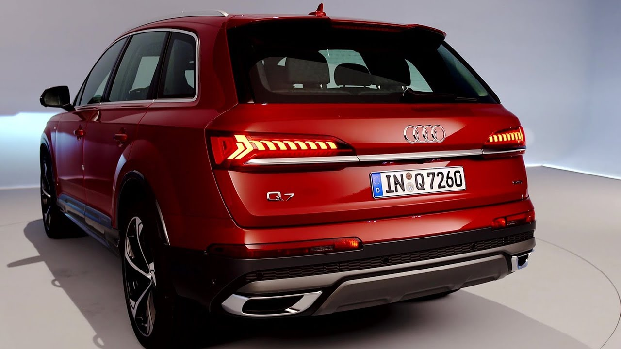2020 Audi Q7 Interior Exterior Driving Youtube