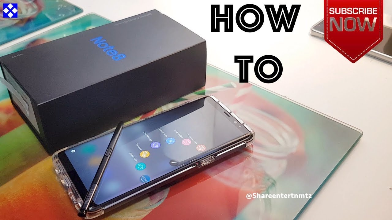 How to use samsung galaxy note 8 s pen tutorial youtube how to use samsung galaxy note 8 s pen tutorial baditri Choice Image