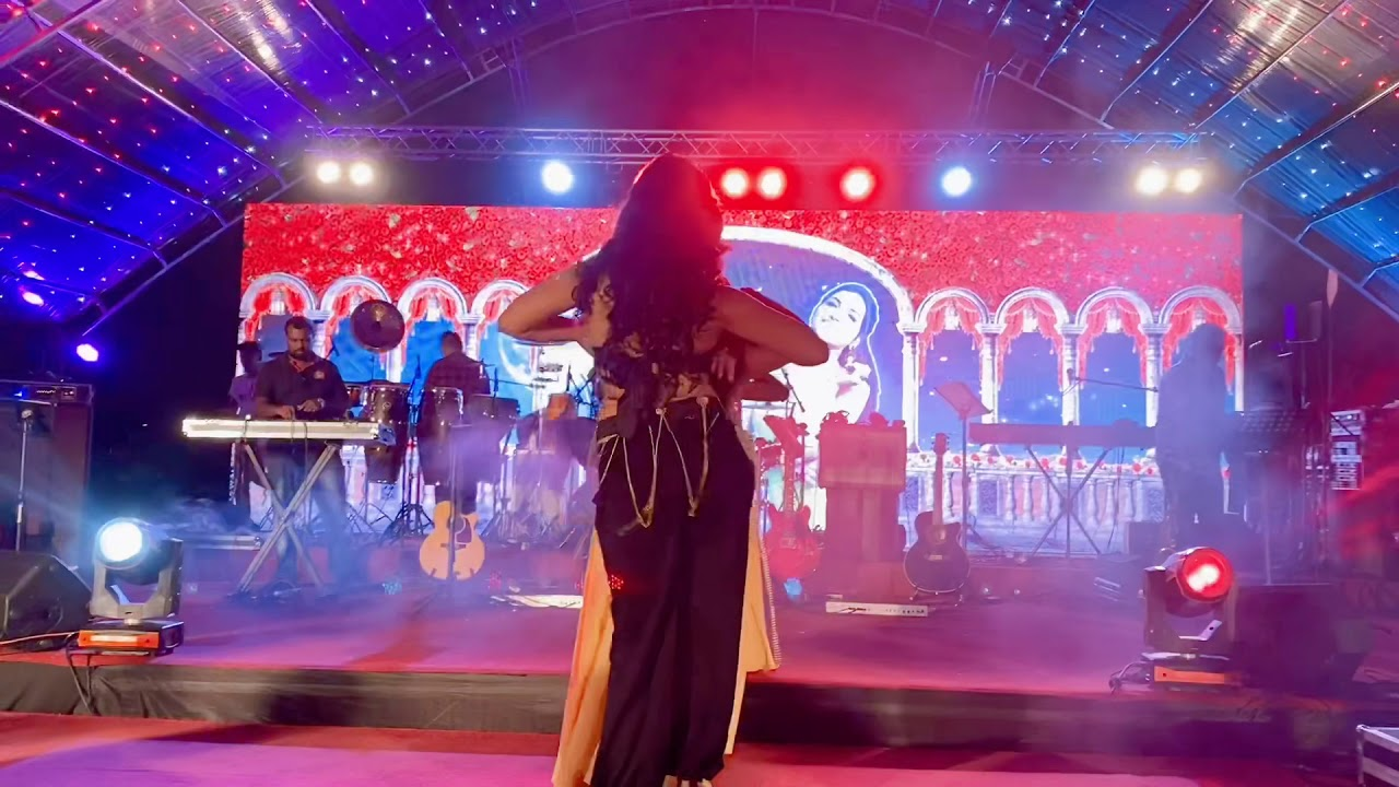 Kriti Verma performing Belly Dance in Valentine's Party