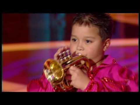 Little Bobby Harrison, Trumpet Player - YouTube