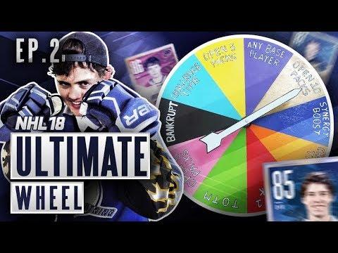 ULTIMATE WHEEL - S2E2 - NHL 18 Hockey Ultimate Team