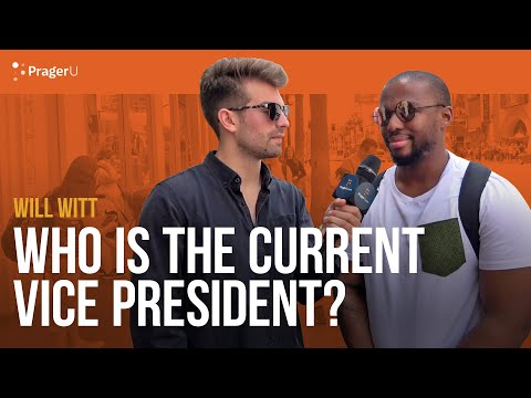 Who is the Vice President? With Will Witt