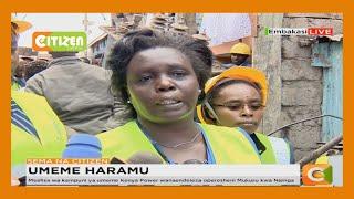 Maafisa wa kampuni ya umeme Kenya Power wanaendeleza operesheni Mukuru kwa Njenga