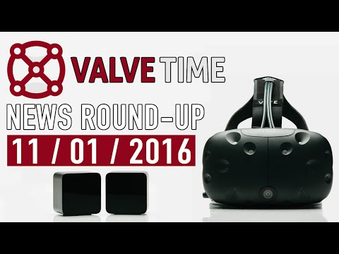 HTC Vive Pre Revealed As Laidlaw Retires! - ValveTime News Round-Up (11th January 2016)