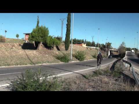 A la UAM en bici