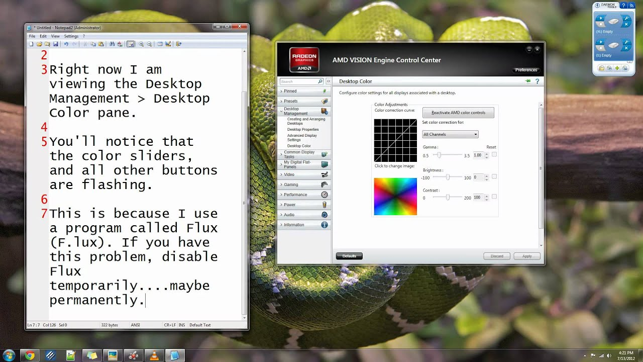 How to Solve AMD VISION Engine Control Center Flashing Buttons Glitch